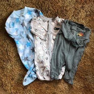 Various Brands 3-6m Onesies